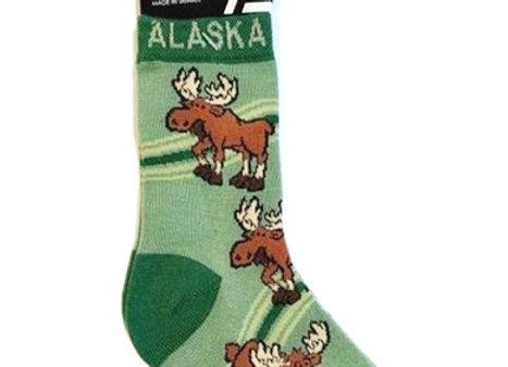 Moose Bottoms Up Toddler Socks