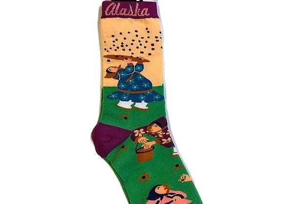 Womens Berry Picker Socks