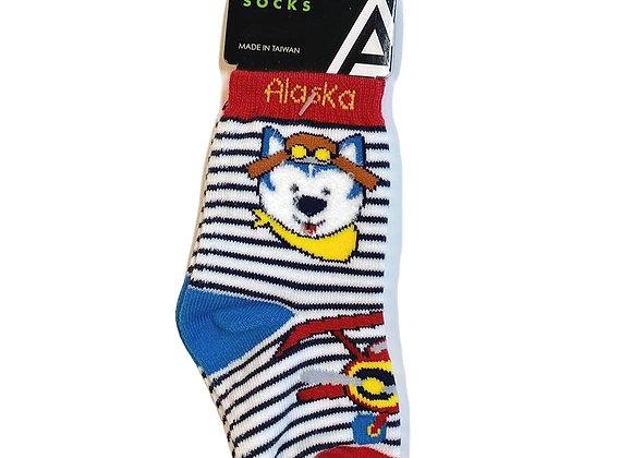 Husky Flyer Infant Socks