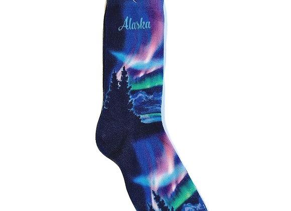 Northern Lights Socks