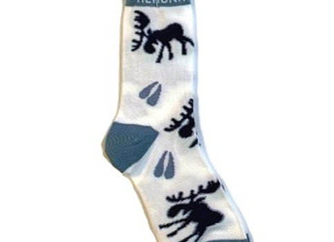 Unisex Moose Paws Socks