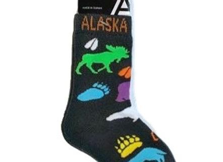 Husky Blue Paws Youth Socks