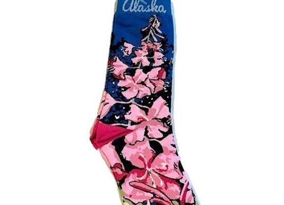 Womens Fireweed Socks