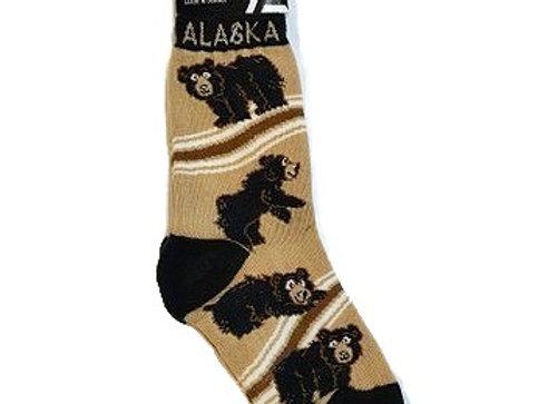 Black Bear Youth Socks