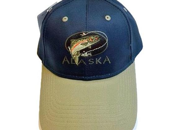 Fish Alaska Baseball Hat