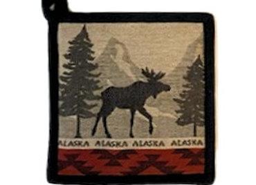 Mountain Moose Hot Pad