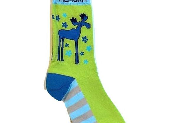 Womens Leggy Moose Socks