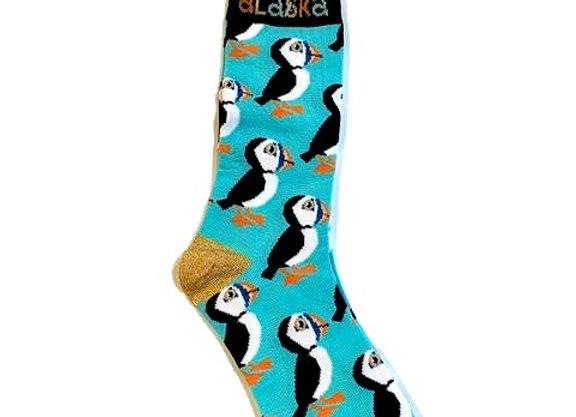Cute Puffin Socks