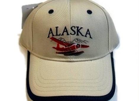 Red Bush Plane Baseball Hat