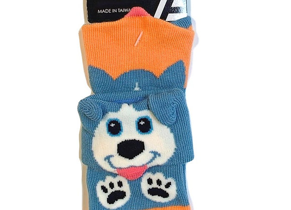Fold-Over Husky Infant Socks