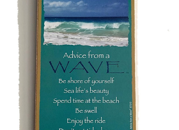 Advice from a Wave Sign