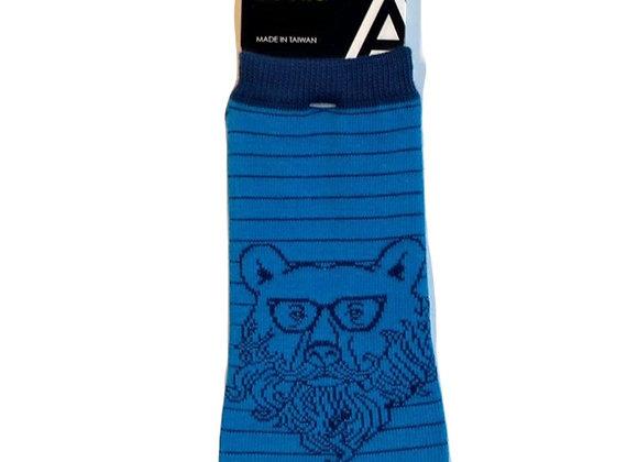 Hipster Bear Ankle Socks