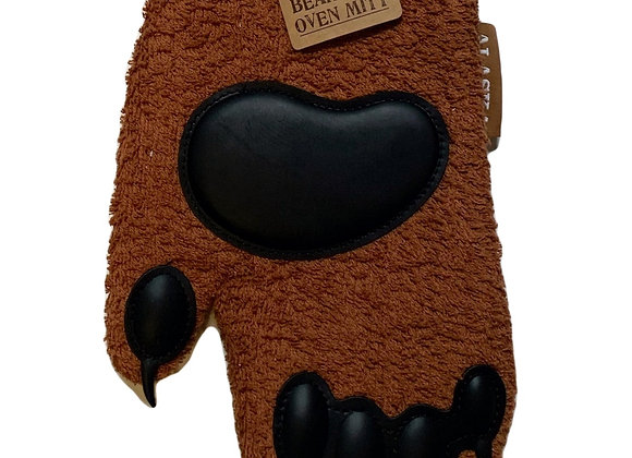 Bear Paw Oven Mitt