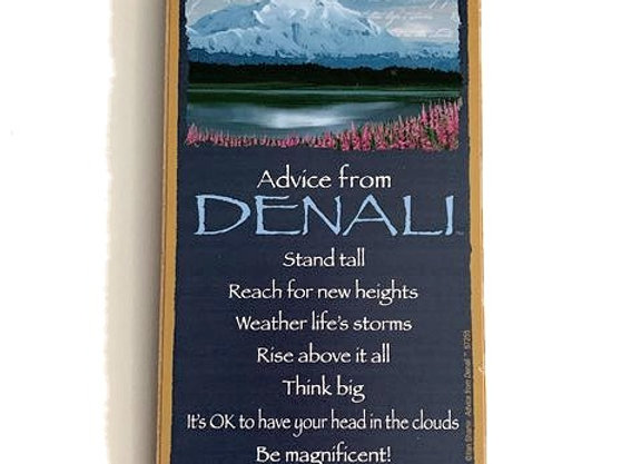 Advice from Denali Sign