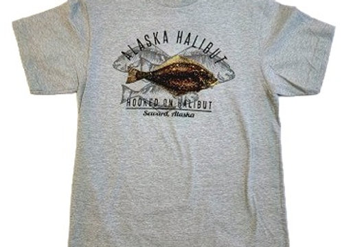 Hooked on Halibut T-Shirt