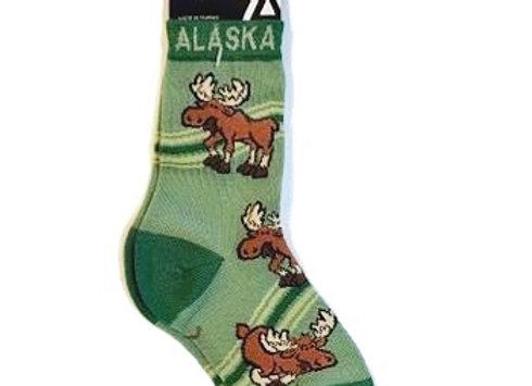 Moose Bottoms Up Youth Socks