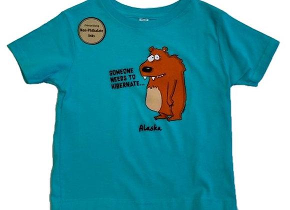 Need to Hibernate Toddler T-Shirt