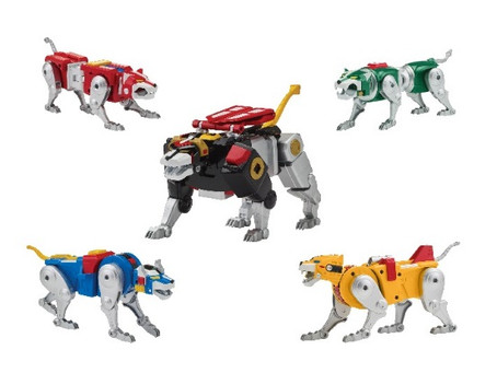 Playmates: Voltron Classic '84 Legendary Lion