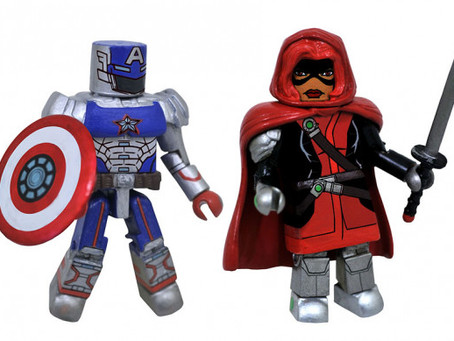 Diamond Select Toys: Marvel Contest of Champions exclusive Minimates