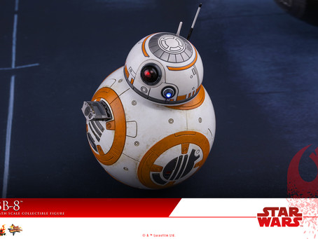 Hot Toys: The Last Jedi - BB-8 figure