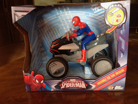 Toy State International: Marvel Ultimate Spider-man Rumble to the Rescue Quad