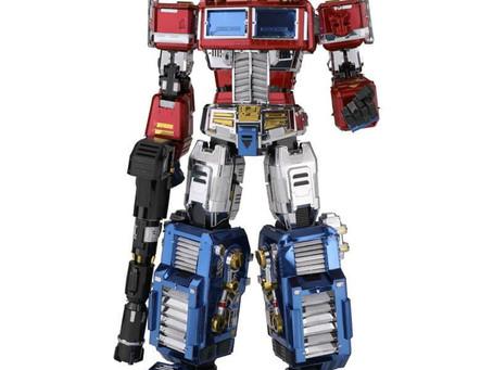 Transformers Optimus Prime G1 3D Metal Puzzle Model Kits