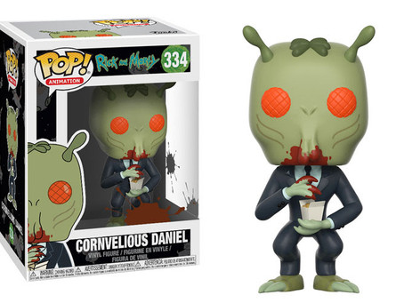 Funko: Pop! Cornvelious Daniel and Toxic Rick and Morty!