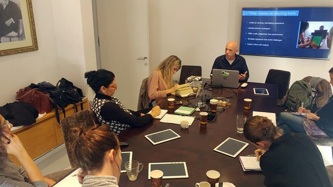 Case study: Training Trainers @ Rothschild Caesarea Partnerships