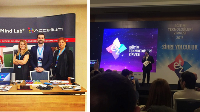 Great exposure for Accelium in leading EdTech conference in Istanbul
