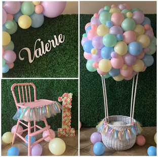 Hot Air Balloon + High Chair