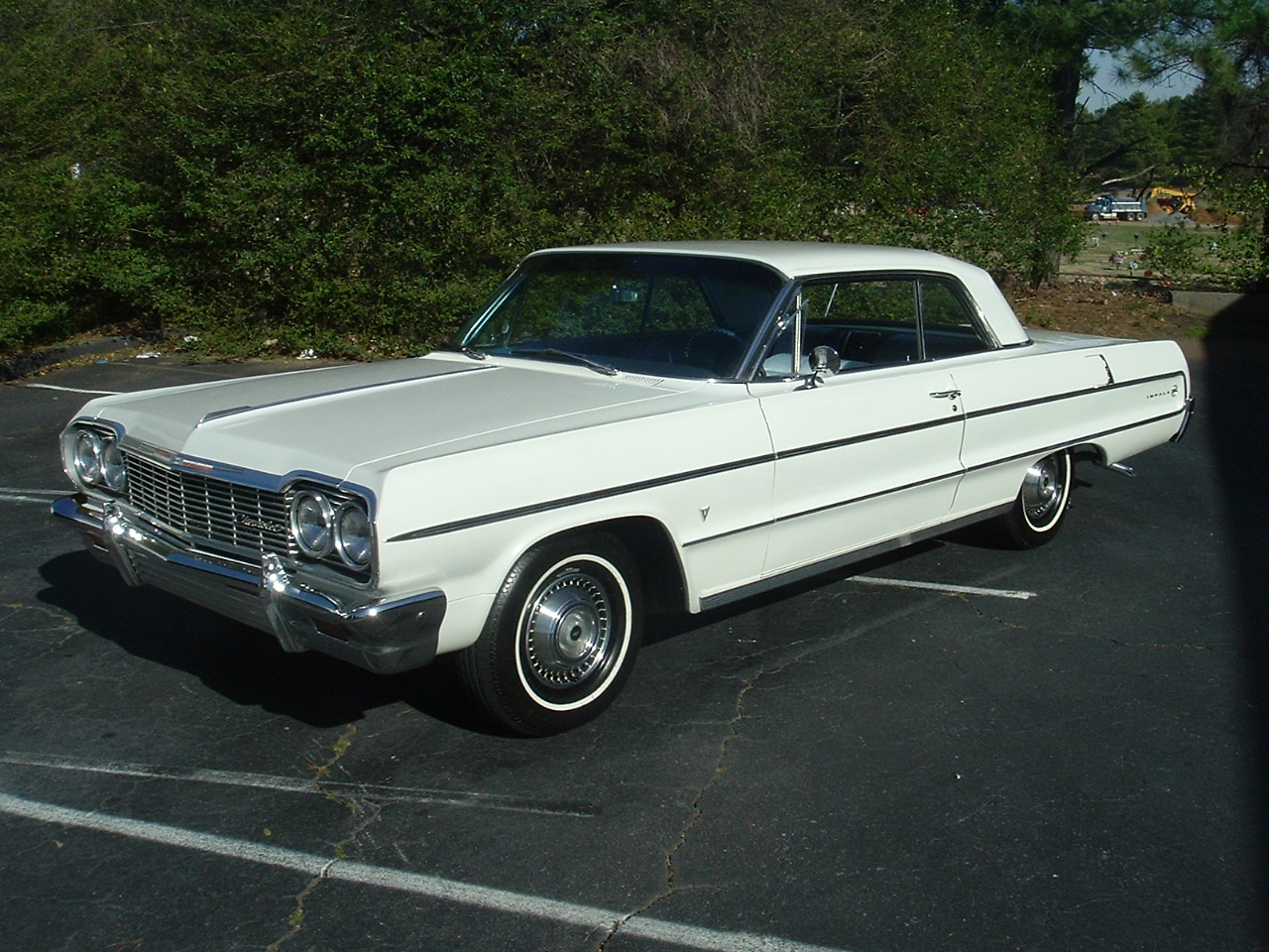 1964 Impala Two Door Hardtop White (1)