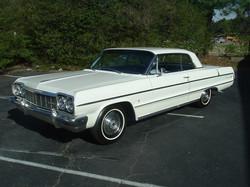 1964 Impala Two Door Hardtop White (1)
