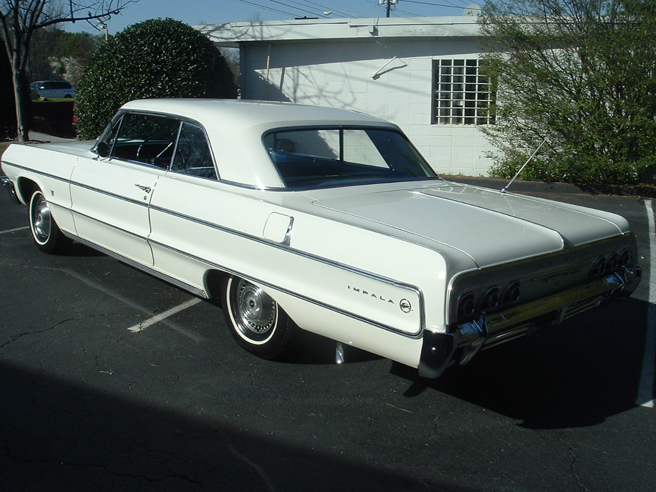 1964 Impala Two Door Hardtop White (3)