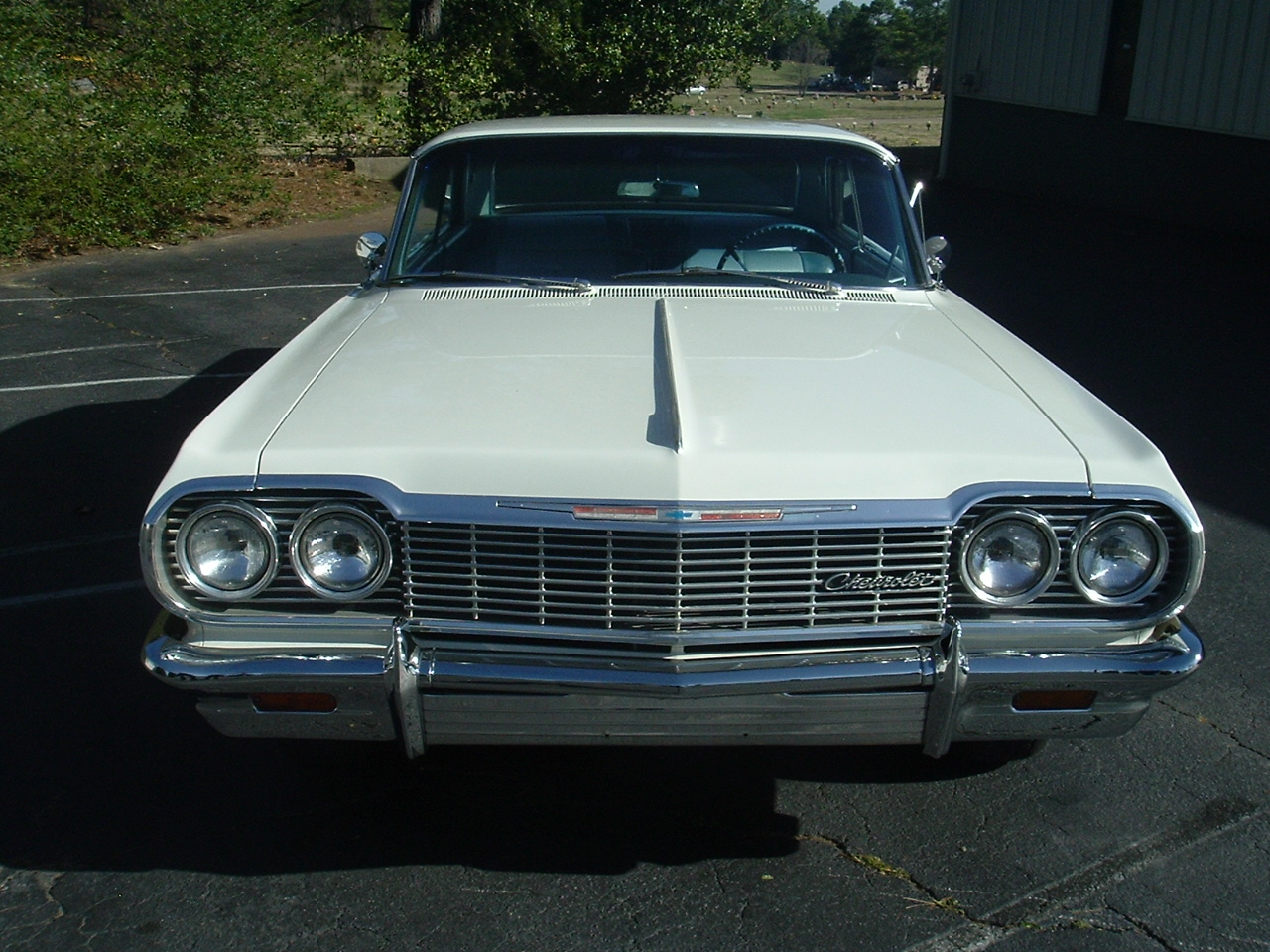 1964 Impala Two Door Hardtop White (8)