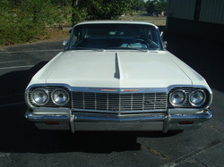 1964 Impala Two Door Hardtop White (8)