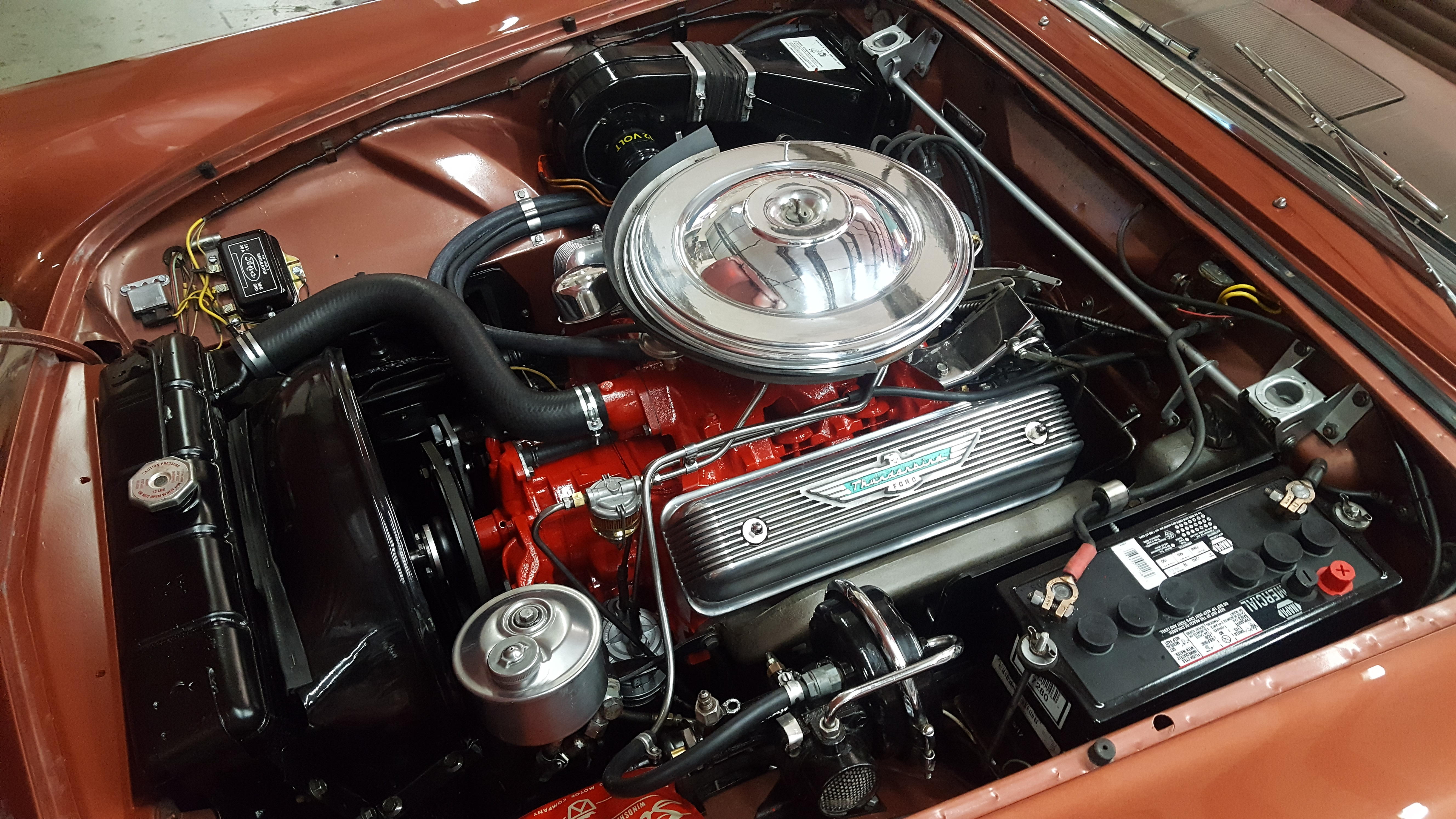 1957 Thunderbird Engine (1)