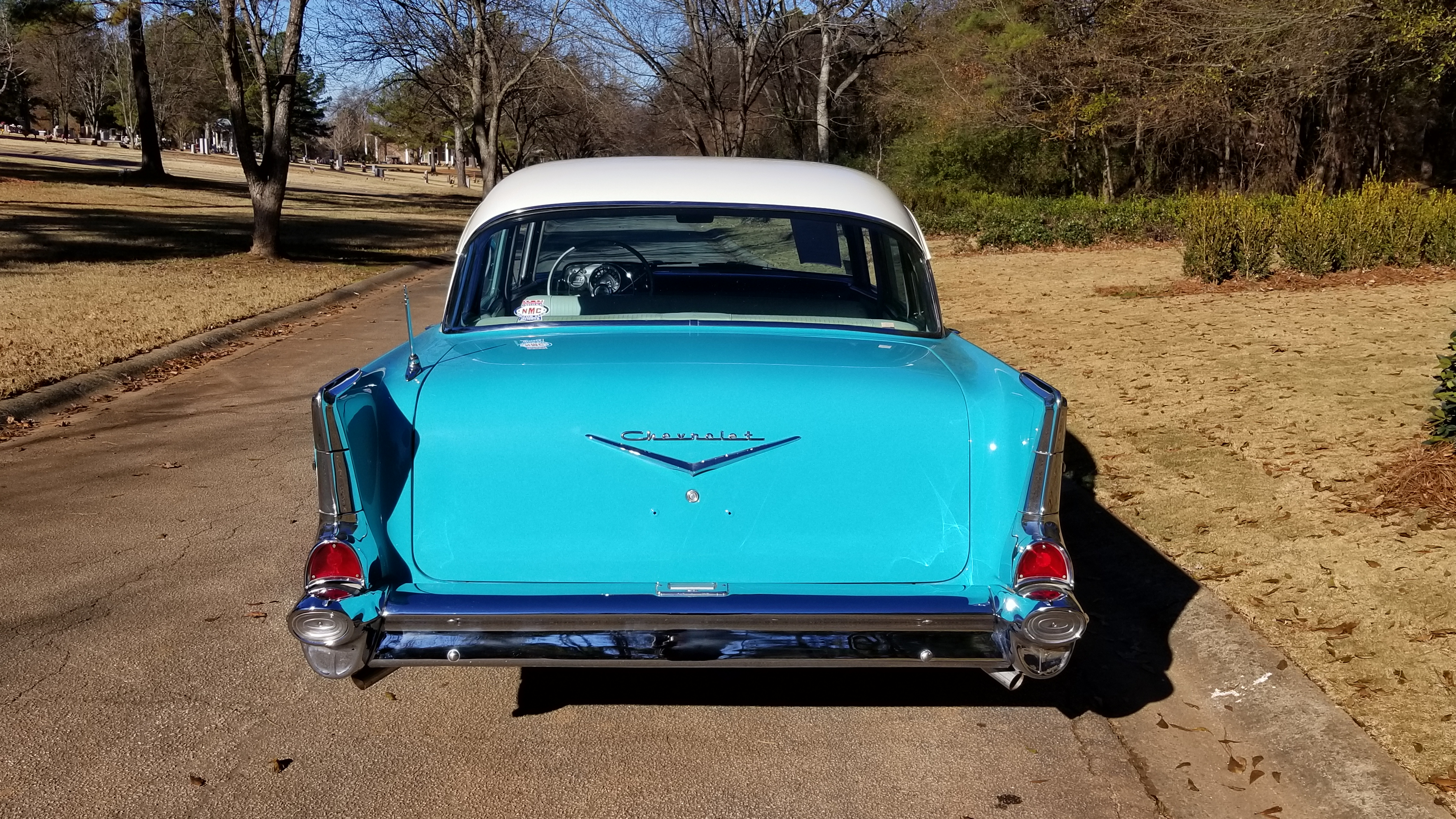 1957 Chevy 210 4 Door (2)