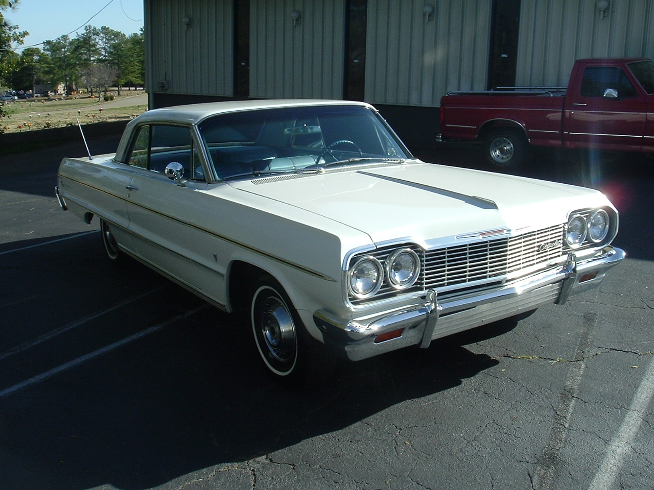 1964 Impala Two Door Hardtop White (7)