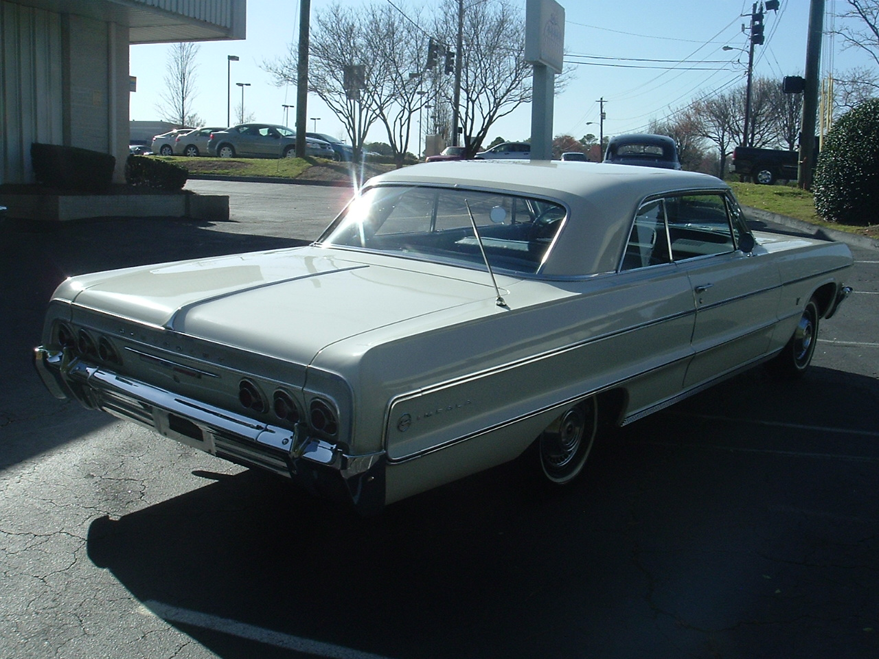 1964 Impala Two Door Hardtop White (5)