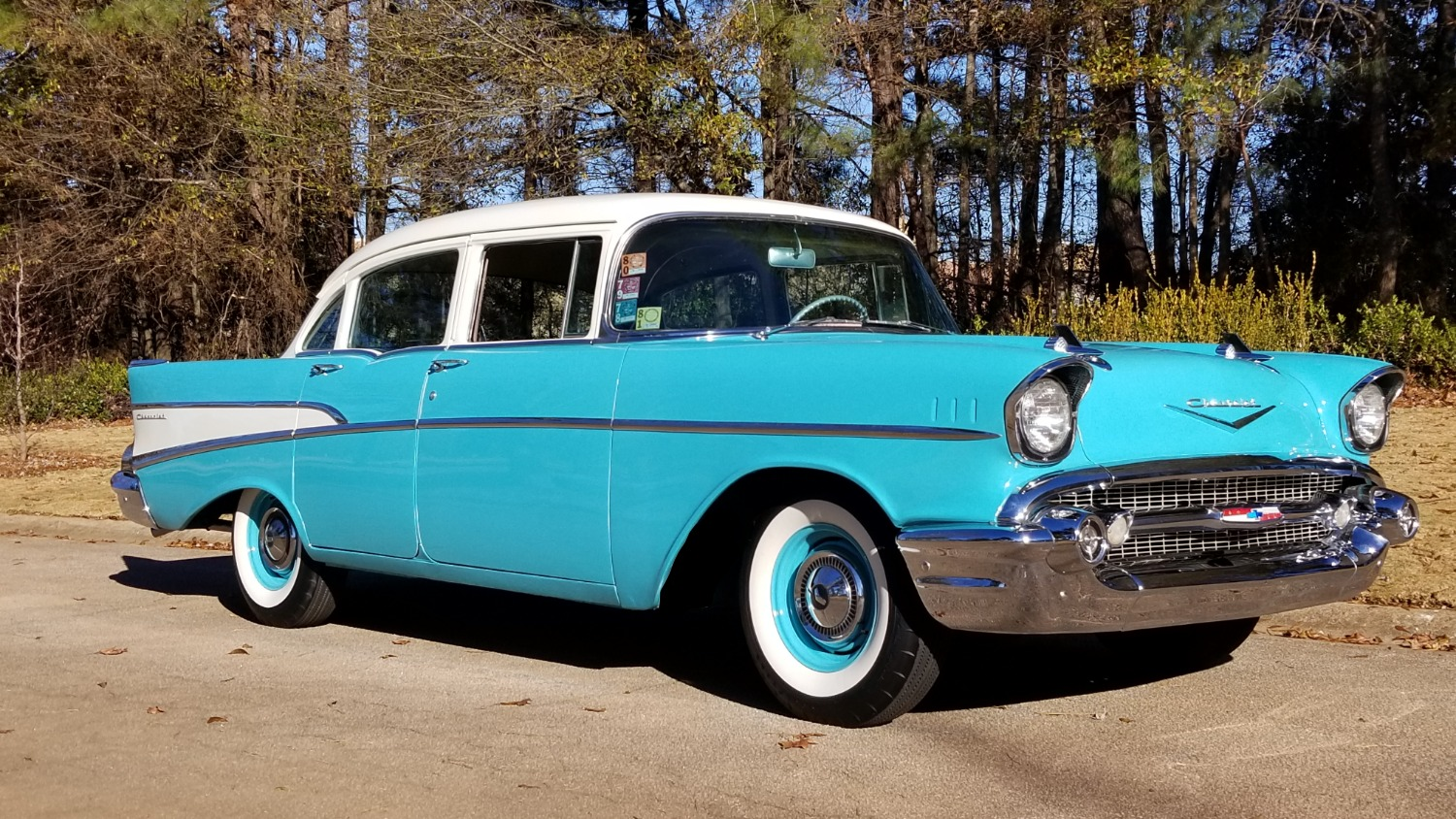 1957 Chevy 210 4 Door (6)