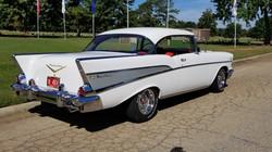 1957 Chevy Belair Hardtop White (33)