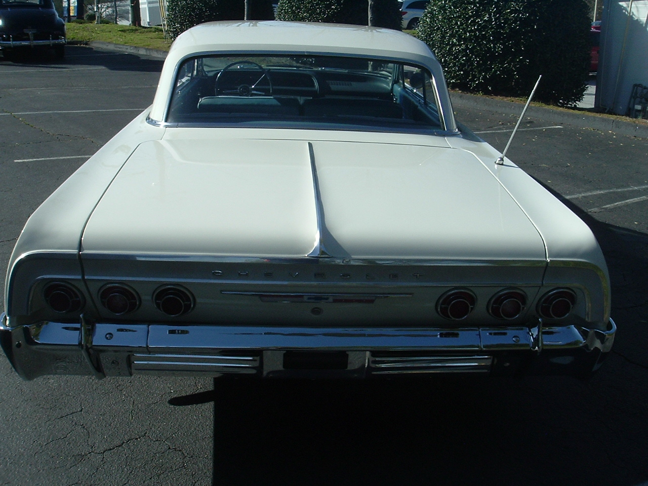 1964 Impala Two Door Hardtop White (4)