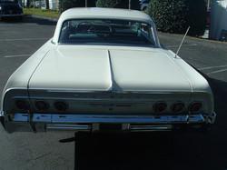 1964 Impala Two Door Hardtop White (4)
