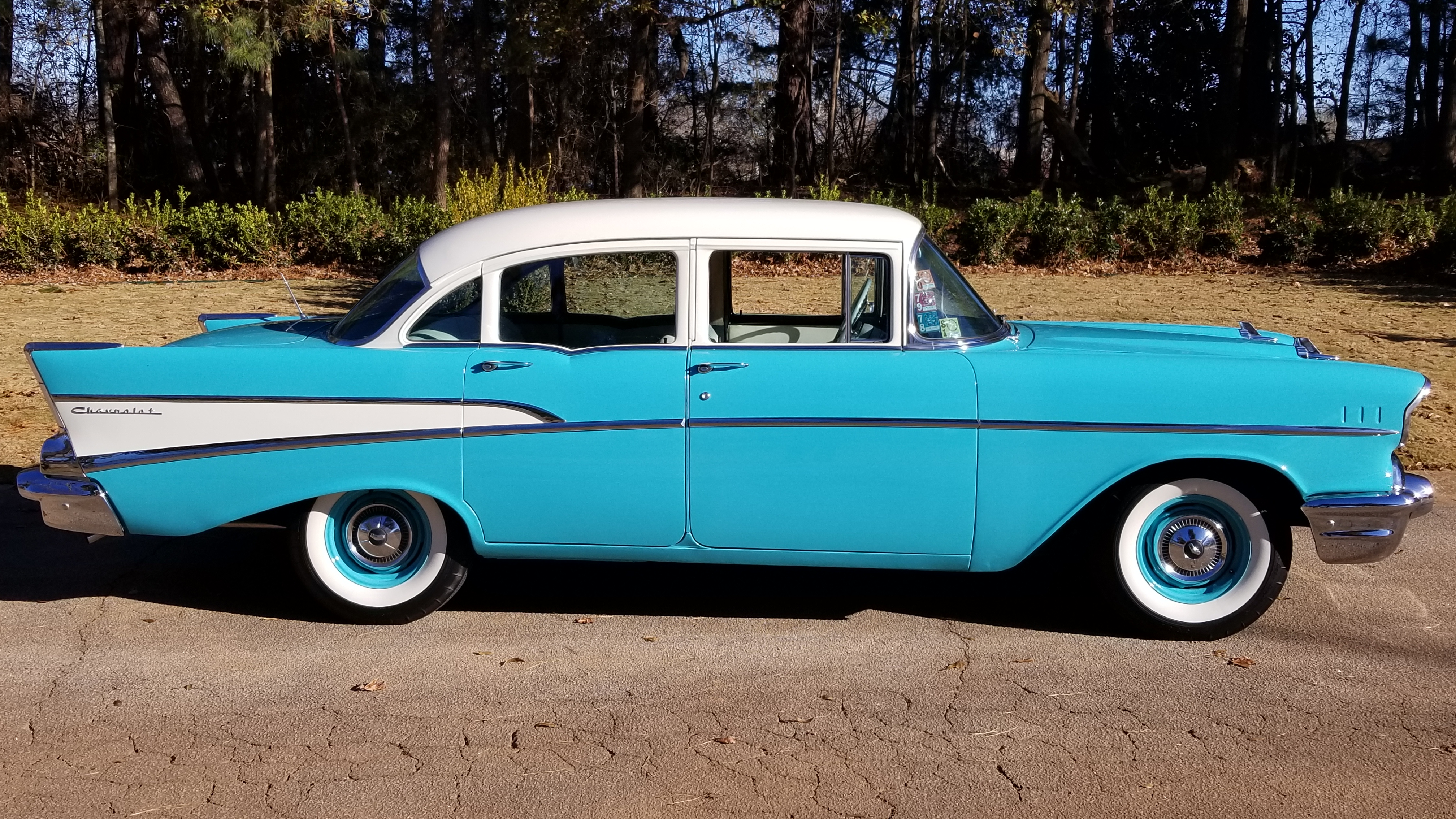 1957 Chevy 210 4 Door (7)