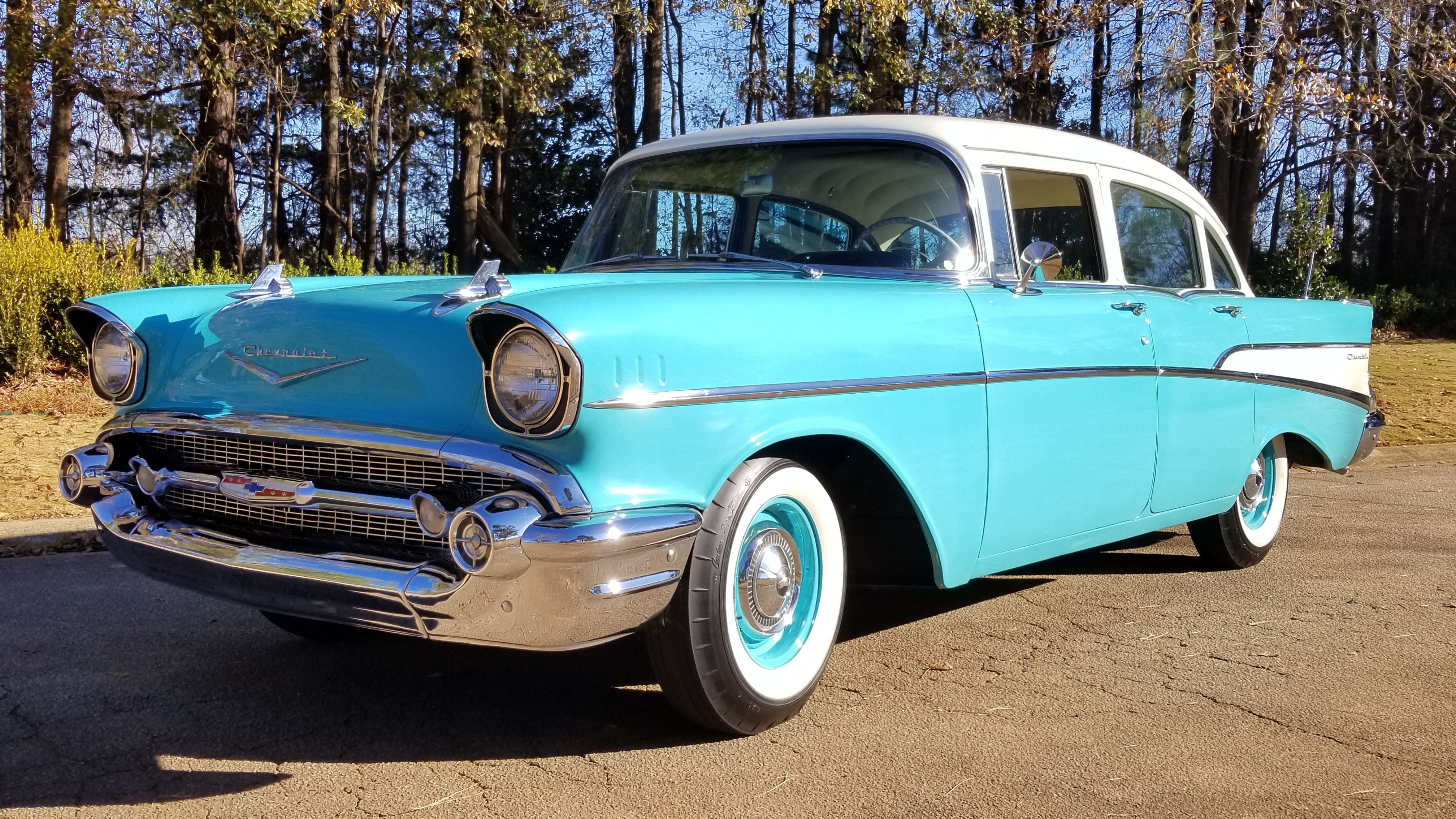 1957 Chevy 210 4 Door (15)
