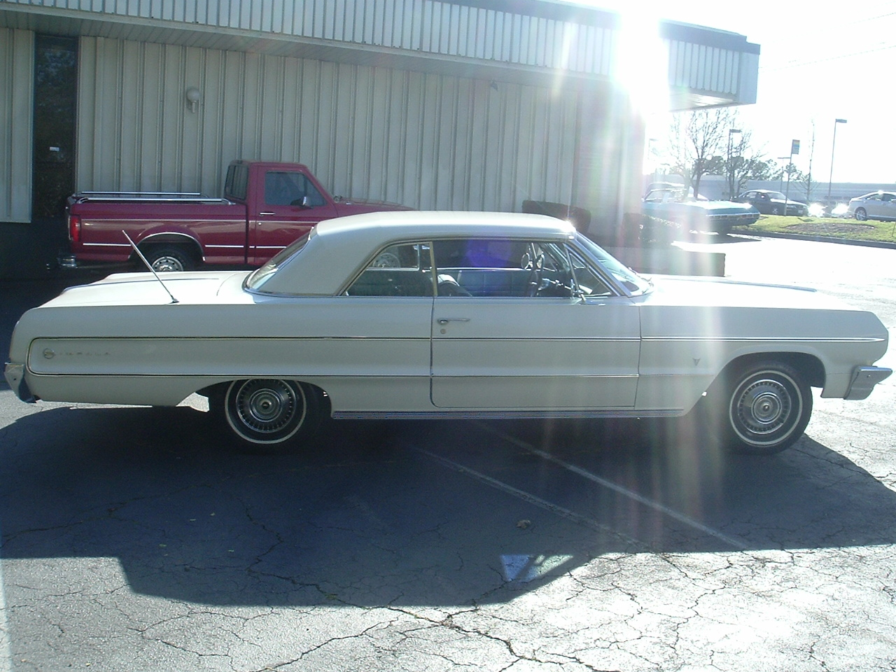 1964 Impala Two Door Hardtop White (6)