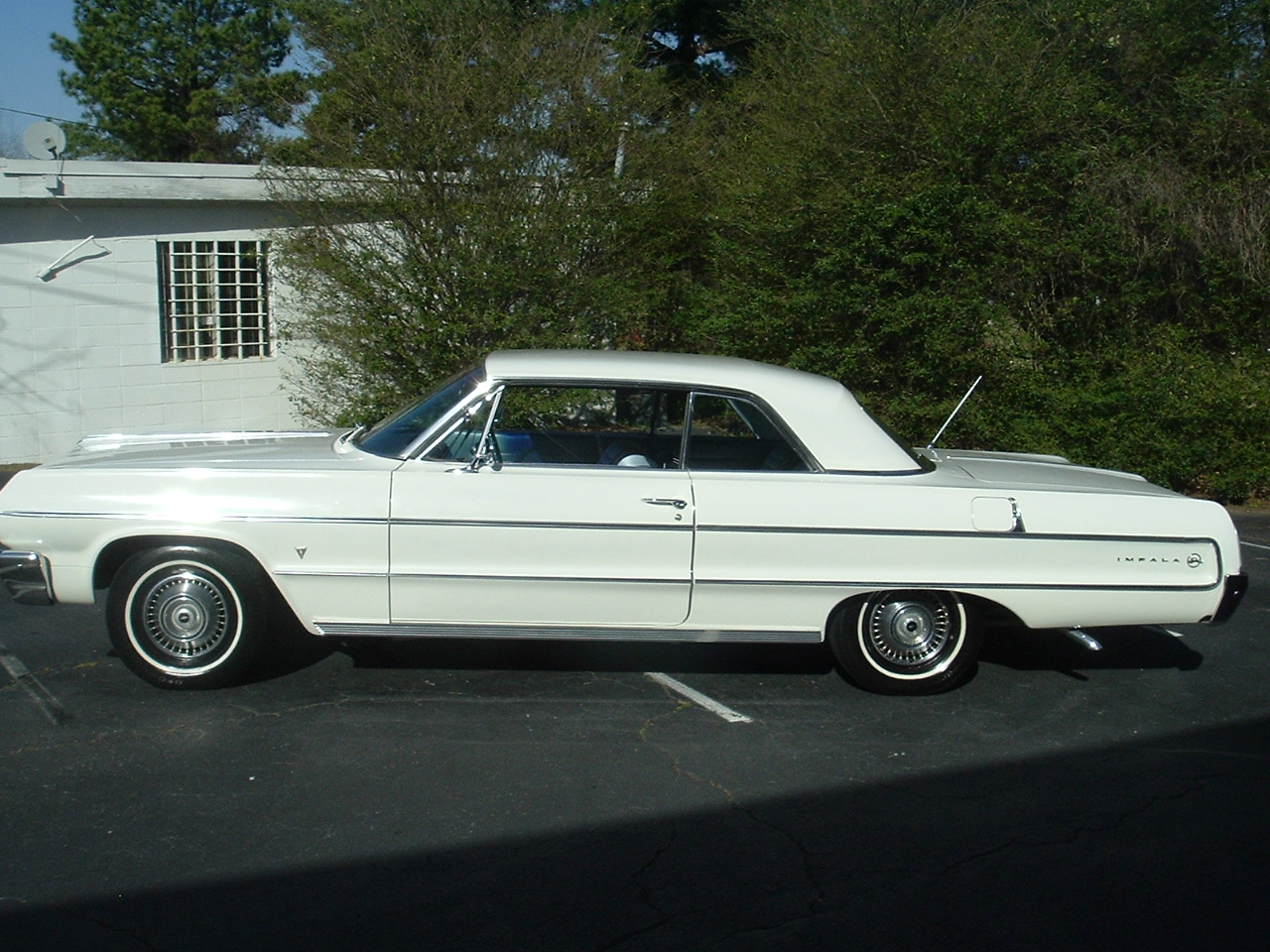 1964 Impala Two Door Hardtop White (2)
