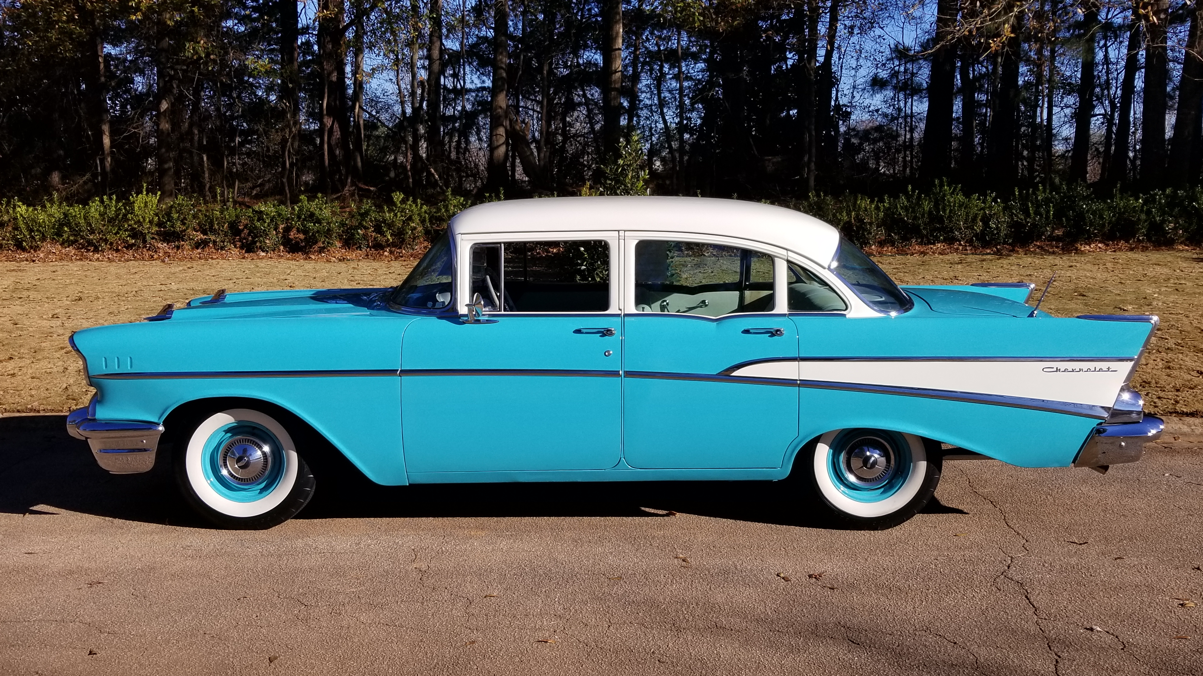 1957 Chevy 210 4 Door (4)