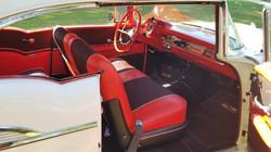 1957 Chevy Belair Hardtop White (15)