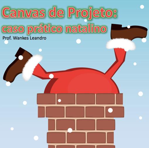 Canvas de projeto, caso prático, Prof. Wankes Leandro